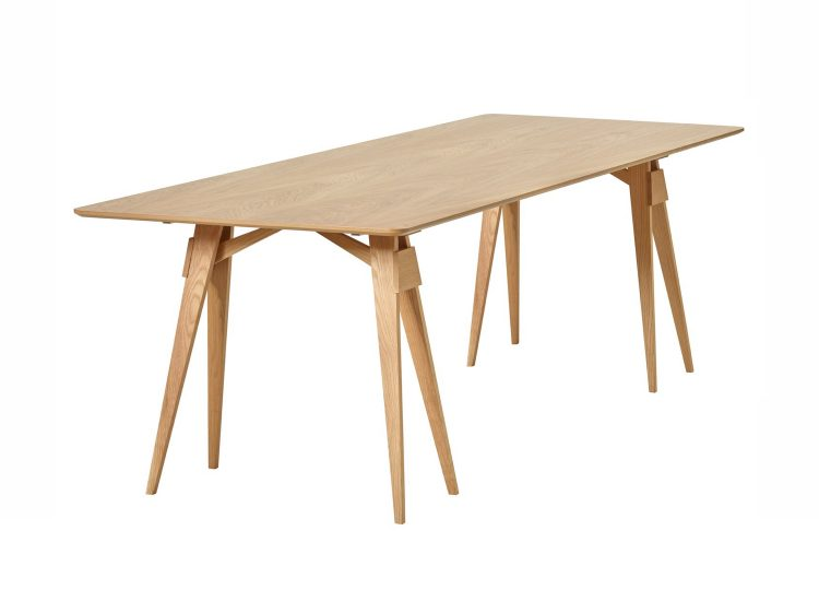 Design House Stockholm Arco Table (Oak)
