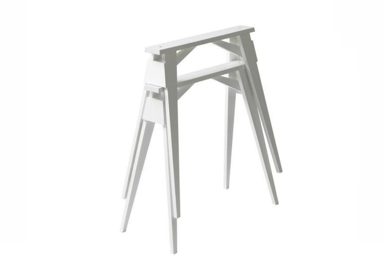 Design House Stockholm Arco Trestles Table (White)