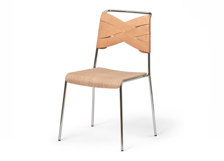 Design House Stockholm Torso Chair (Natural & Oak)
