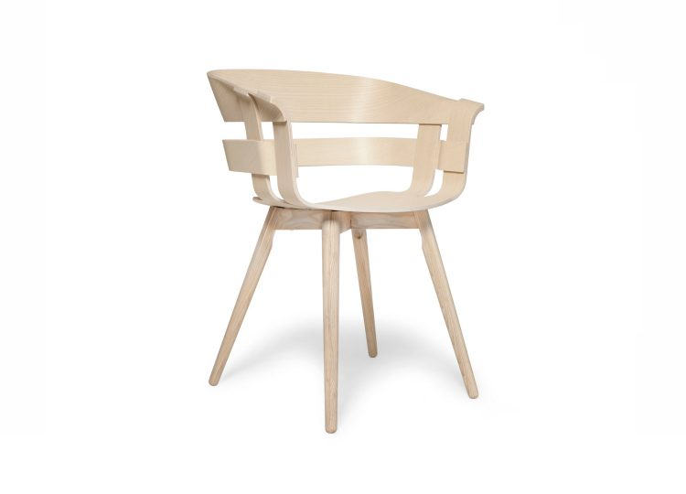 Design House Stockholm Wick Chair (Oak with Oak Legs)