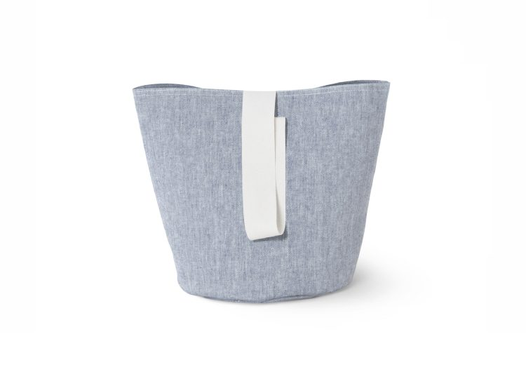 Ferm Living Blue Chambray Basket