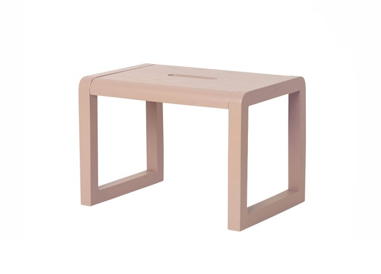 est living ferm living little architect stool rose 01 750x540