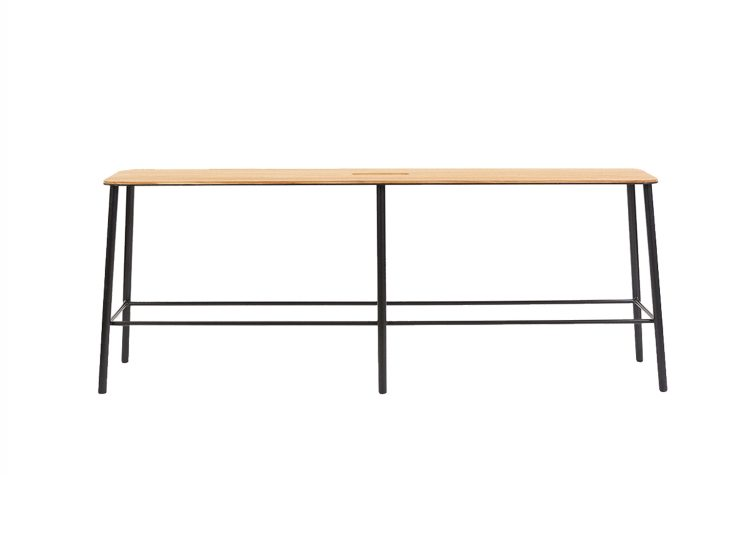 Frama Adam Bench L1200 (Oak / Matt Black)