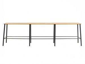 Frama Adam Bench L1600 (Oak / Matt Black)