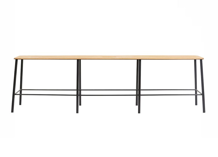 est living frama adam bench l1600 oak matt black 01 750x540