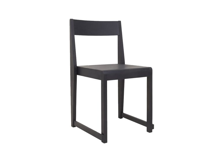 Frama Chair 01 (Black Wood)