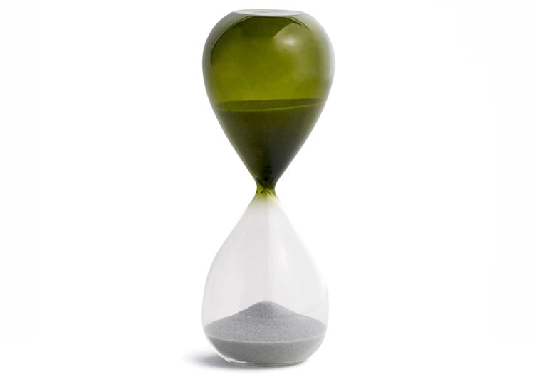 Hay Time Hourglass (Grass Green)