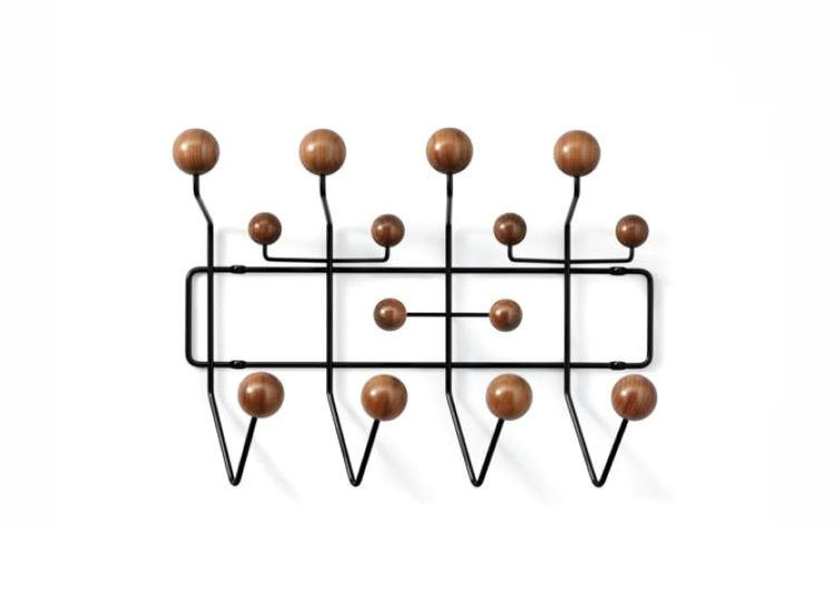 Herman Miller Eames Hang-It-All (Black/Walnut)
