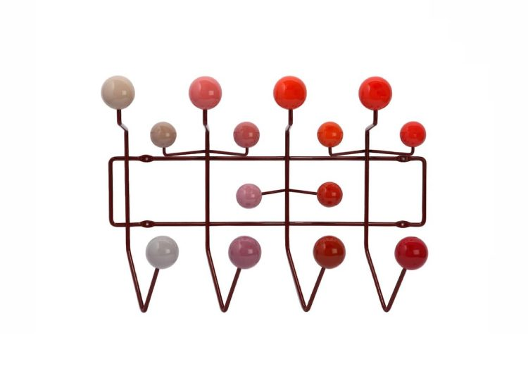 Herman Miller Eames Hang-It-All (Red/Multi)