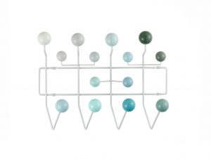 Herman Miller Eames Hang-It-All (White/Blue)