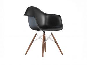 Herman Miller Eames Molded Fiberglass Armchair (Dowel Base)