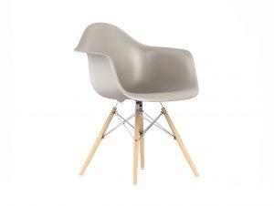 Herman Miller Eames Molded Plastic Armchair (Dowel Base)