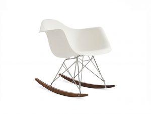 Herman Miller Eames Molded Plastic Armchair (Rocker Base)