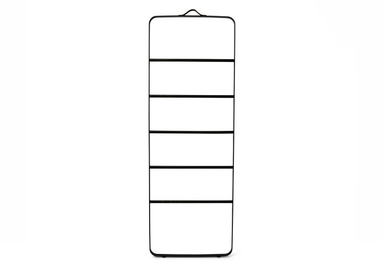 Menu Black Towel Ladder