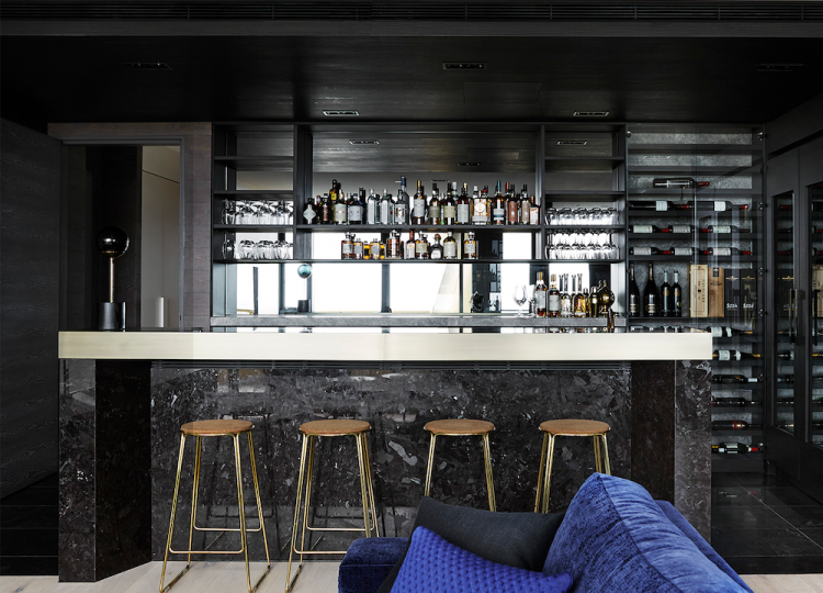 Bar & Cellar | MCF Residence Bar by Mim Design