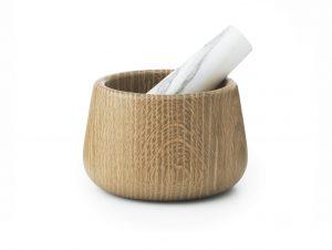 Normann Copenhagen Craft Mortar & Pestle (White)
