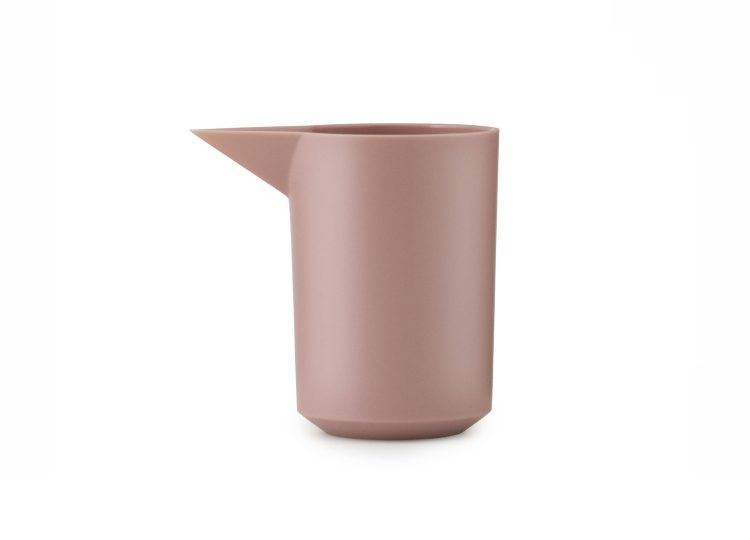 Normann Copenhagen Geo Milk Jug (Blush)