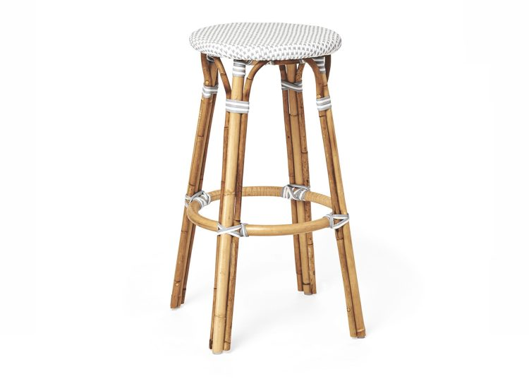 Serena & Lily Riviera Backless Barstool
