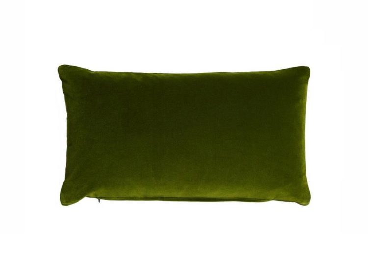 Soho Home Monroe Oblong Cushion (Moss Green)