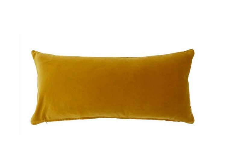 Soho Home Monroe Oblong Cushion (Mustard)