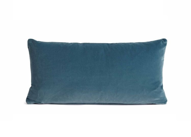 Soho Home Monroe Oblong Cushion (Teal)