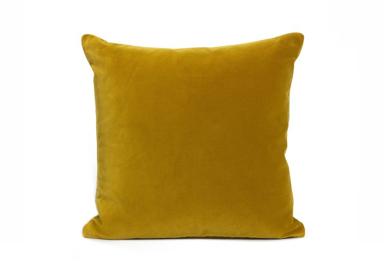 Soho Home Monroe Square Cushion (Mustard)