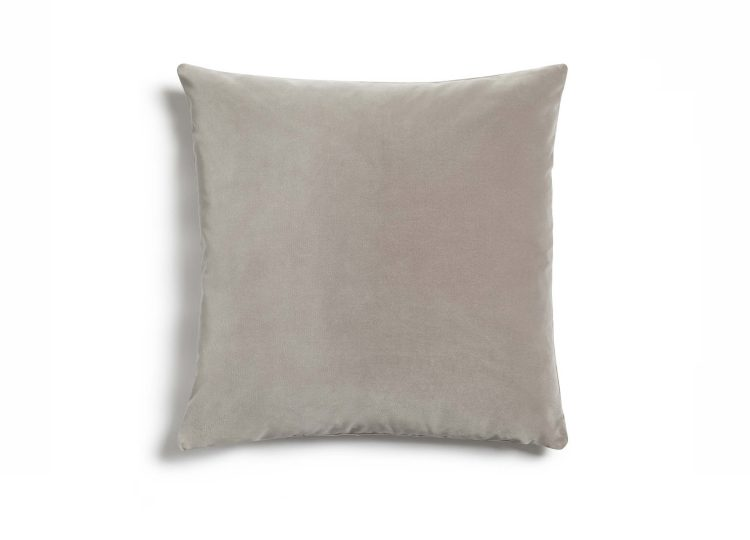 Soho Home Monroe Square Cushion (Silver)