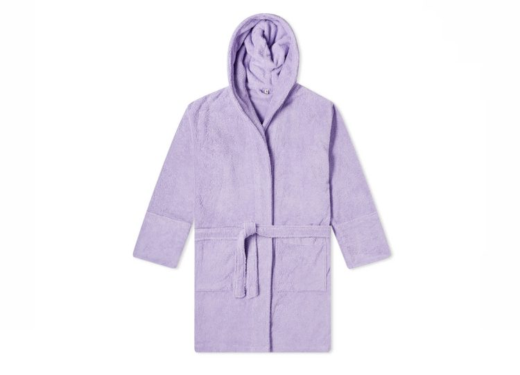 Tekla Lavender Bathrobe