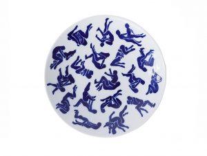 Viso Kamo Sutra Porcelain Plate V06