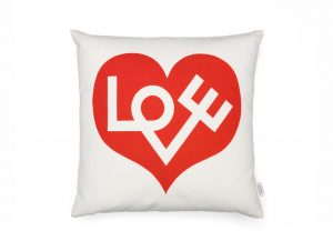 Vitra Graphic Print Pillow (Love Heart)