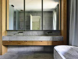 Bathroom 1 | St Vincent's Place Bathroom by B.E. Architecture