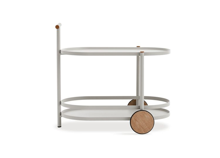 Kun Design Pipe Bar Cart