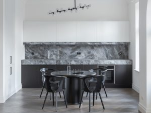 Dining | Riga Apartment Dining Room by AKTA