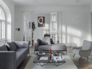 Living | Riga Apartment Living Room by AKTA