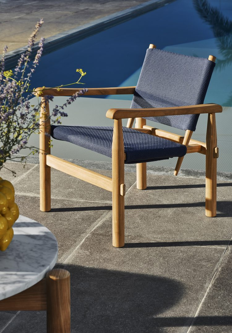 Cassina Outdoor Range by Charlotte Perriand