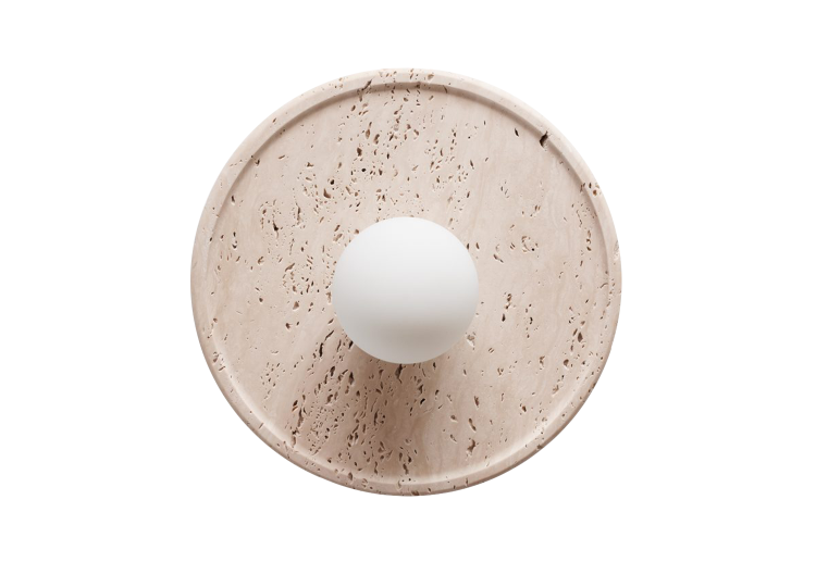 Daniel Boddam Celeste Wall Sconce – Travertine