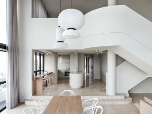 Dining | Queensland Penthouse Dining Room by CJH Studio