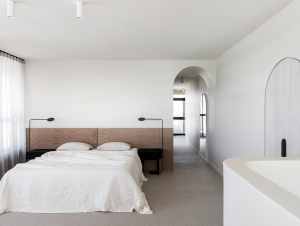 Bedroom | Queensland Penthouse Bedroom by CJH Studio