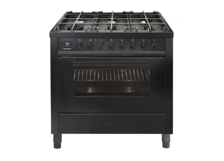 ILVE PRO-Line 900mm Freestanding Cooker – Matt Graphite