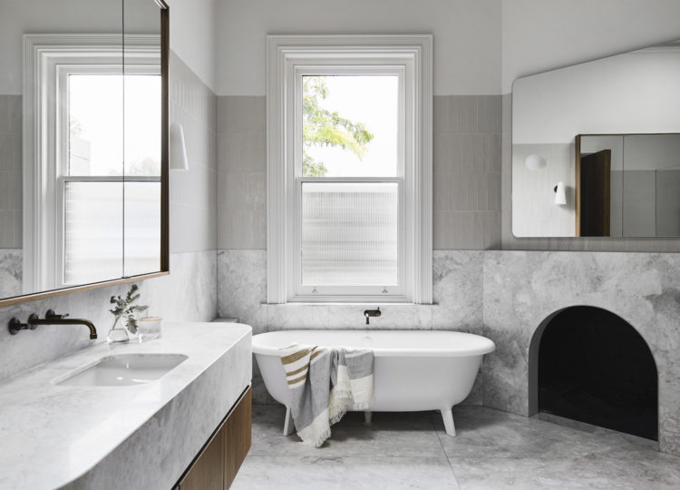 Bathroom 1 | Armadale Residence by Pleysier Perkins and Sanders & King