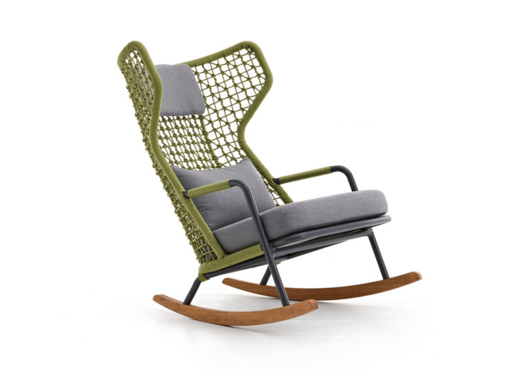 Kun Design Banyan Tree Highback Rocking Chair