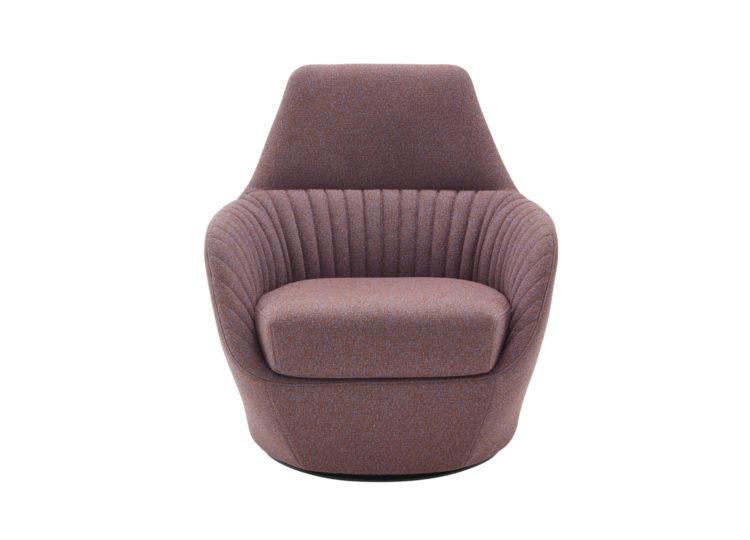 est living domo ligne roset amedee swivelling armchair 750x540