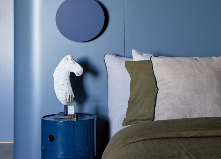 Bedroom | Balmoral Blue House Bedroom by esoteriko