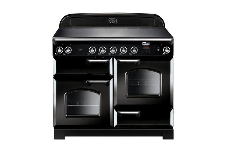 Falcon Classic 110cm Induction Range Cooker (Black & Chrome)