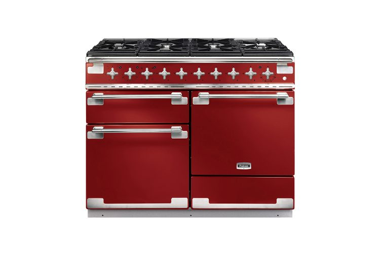 Falcon Elise 110cm Dual Fuel Range Cooker (Cherry Red)