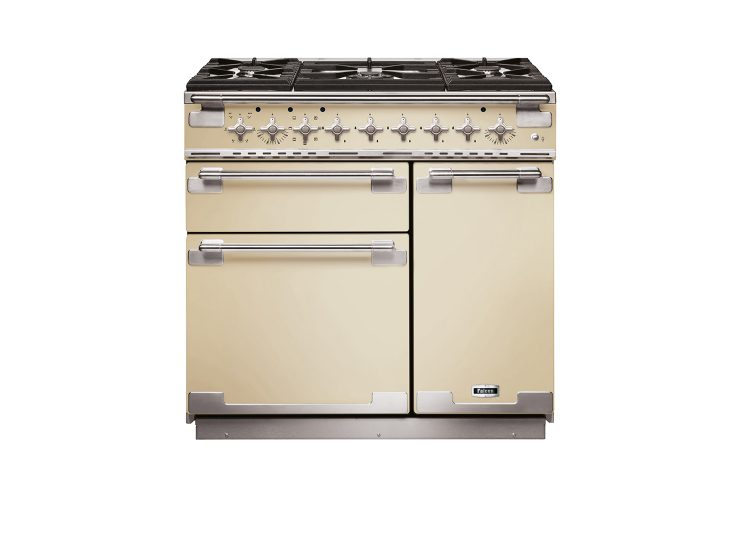 Falcon Elise 90cm Dual Fuel Range Cooker (Cream & Nickel)