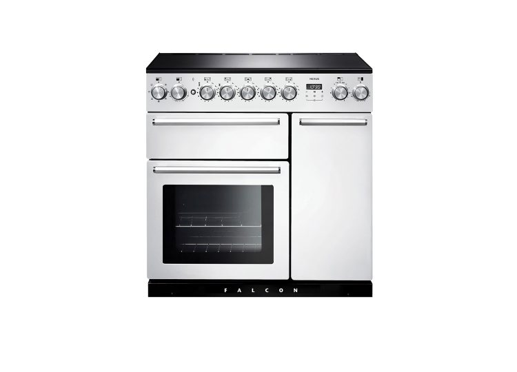 Falcon Nexus 90cm Induction Range Cooker (White & Chrome)