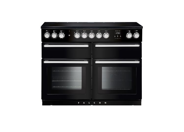 Falcon Nexus SE 110cm Induction Range Cooker (Black & Chrome)