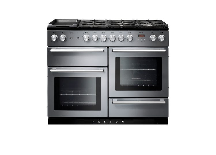 Falcon Nexus SE 110cm Dual Fuel Range Cooker (Stainless Steel & Chrome)