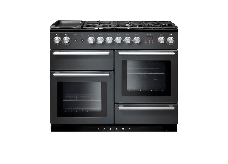 Falcon Nexus SE 110cm Dual Fuel Range Cooker (Slate & Chrome)